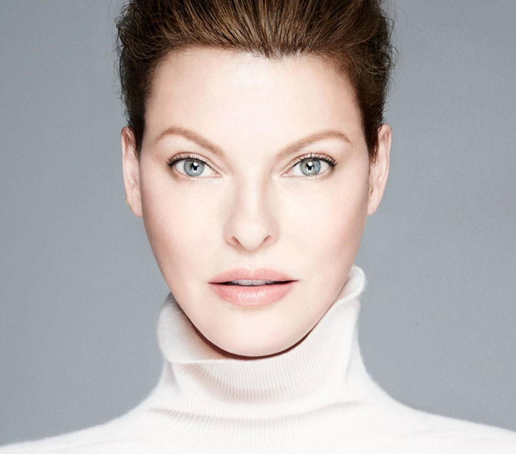 Canadian fashion icon Linda Evangelista