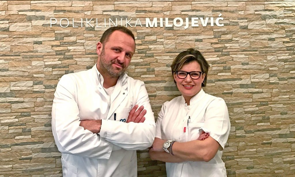 Nikola Milojević i Željana Bolanča