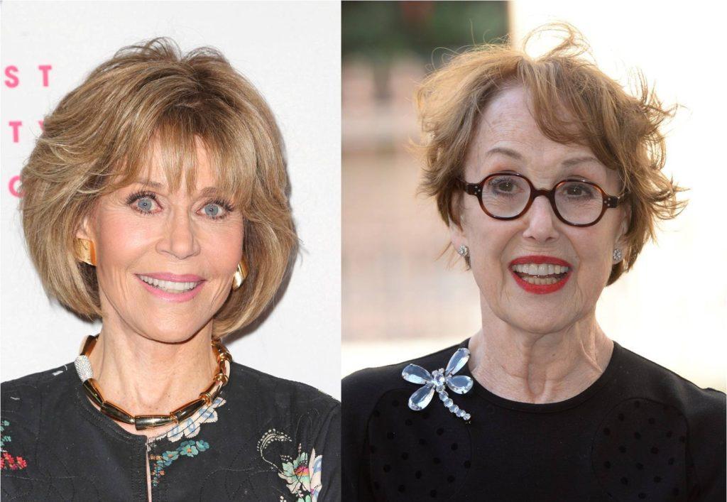 Jane Fonda i Una Stubbs