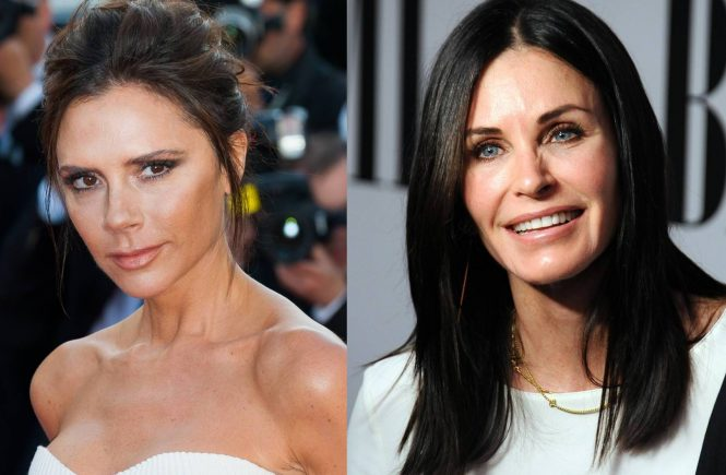 Victoria Beckham Courtney cox
