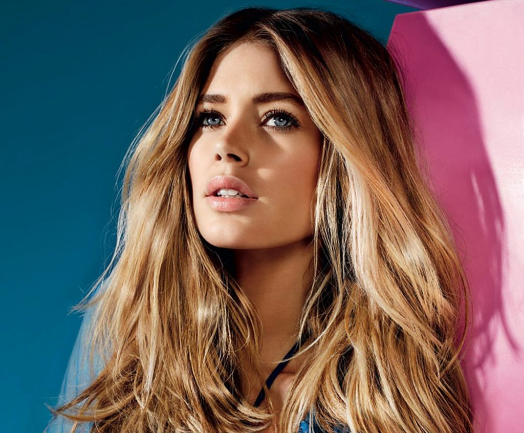 Dutch model Doutzen Kroes in promotional images for L'Oreal Paris
