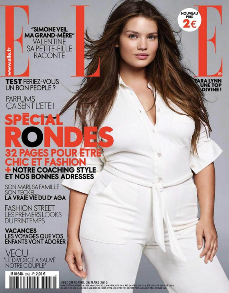 01.04.10 Plus-size model Tara Lynn on the cover of Elle France (March 2010) Pictured: Tara Lynn, Image: 56299915, License: Rights-managed, Restrictions: PICTURE SUPPLIED BY: PLANET PHOTOS, Model Release: no, Credit line: Profimedia, Planet