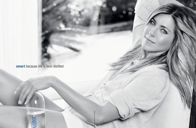 13-5-2011 Jennifer Aniston in new advert for Smartwater Pictured: Jennifer Aniston, Image: 94009447, License: Rights-managed, Restrictions: , Model Release: no, Credit line: Profimedia, Planet