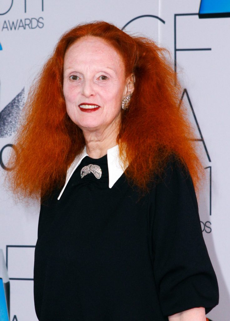 Grace Coddington poses at the 2011 CFDA Fashion Awards at Alice Tully Hall in New York City on June 06, 2011., Image: 95359141, License: Rights-managed, Restrictions: , Model Release: no, Credit line: Profimedia, Retna A