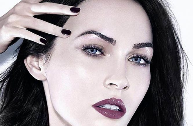 Megan Fox in Armani's latest beauty campaign.