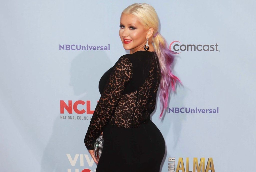 16 September 2012 - Pasadena, California - Christina Aguilera. 2012 NCLR ALMA Awards - Arrivals Held At Pasadena Civic Auditorium., Image: 142123474, License: Rights-managed, Restrictions: , Model Release: no, Credit line: Profimedia, ADMedia
