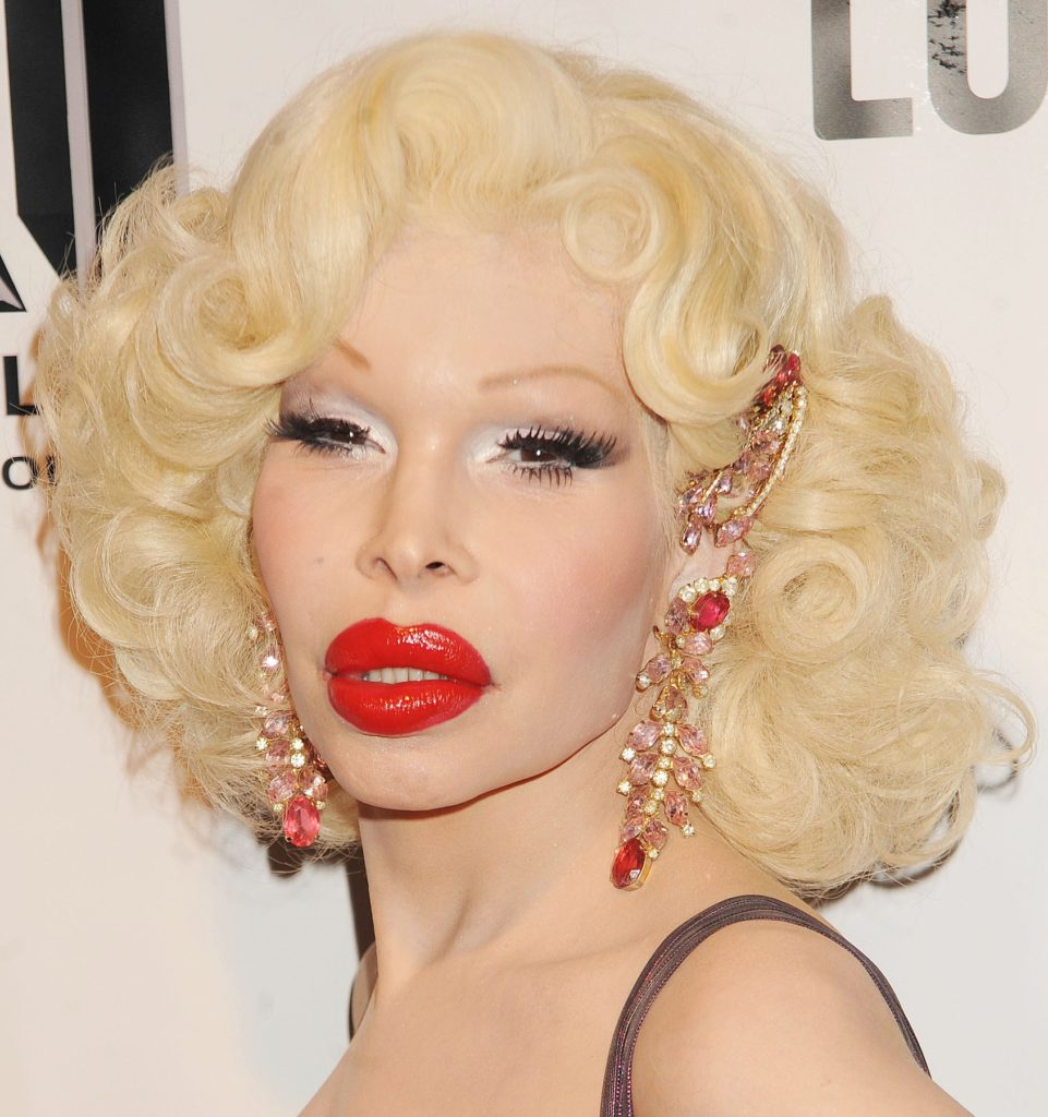 89892, NEW YORK, NEW YORK - Friday January 25, 2013. Amanda Lepore attends 'RuPaul's Drag Race' Season 5 premiere at XL Nightclub in New York City., Image: 152777606, License: Rights-managed, Restrictions: , Model Release: no, Credit line: Profimedia, Pacific coast news