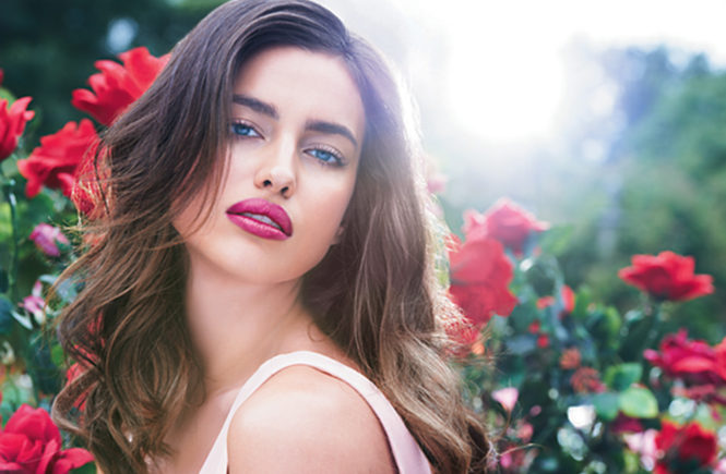 Irina Shayk for Avon