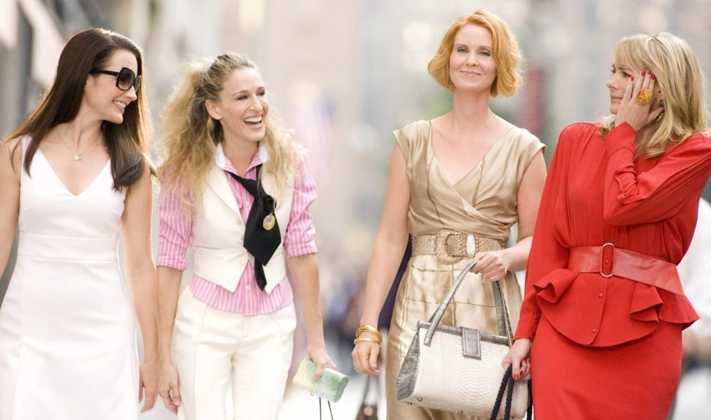 "Kristin Davis, Sarah Jessica Parker, Cynthia Nixon, Kim Cattrall in film ""SEX AND THE CITY 2"" - 2010, Image: 164368633, License: Rights-managed, Restrictions: , Model Release: no, Credit line: Profimedia, Allpix Press"