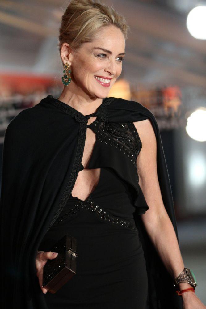 Sharon Stone arrives at the opening ceremony of the 13th Marrakesh International Film Festival on November 29, 2013 in Marrakech, Morocco Photo by Bouknadelabdou / PixPlanete/insight media, Image: 178146052, License: Rights-managed, Restrictions: , Model Release: no, Credit line: Profimedia, Insight Media