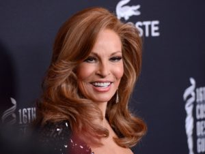 RAQUEL WELCH @ the 16th annual Costume Designers Guild awards held @ the Beverly Hilton hotel. February 22, 2014, Image: 185323992, License: Rights-managed, Restrictions: AMERICA, Model Release: no, Credit line: Profimedia, Visual