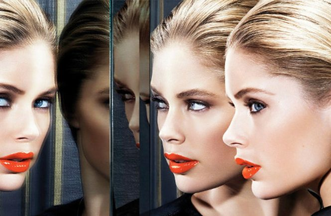 Dutch model Doutzen Kroes in promotional image for Color Riche Extraordinarie by L'Oreal 2014., Image: 189995755, License: Rights-managed, Restrictions: EDITORIAL USE ONLY, Model Release: no, Credit line: Profimedia, Balawa Pics