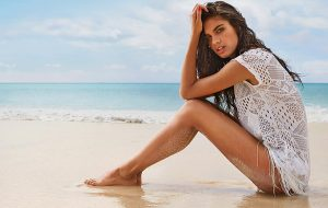 Portuguese fashion model Sara Sampaio stars in Calzedonia Swimwear 2014 advertising campaign., Image: 190308388, License: Rights-managed, Restrictions: EDITORIAL USE ONLY, Model Release: no, Credit line: Profimedia, Balawa Pics