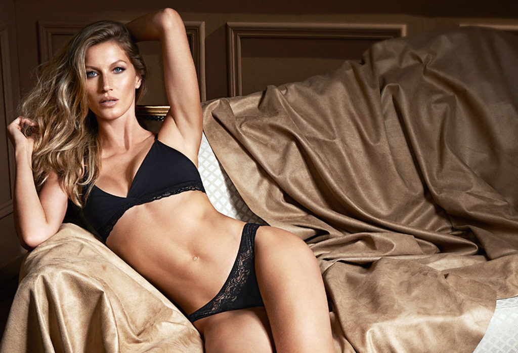 Brazilian supermodel Gisele Bundchen in the promotional picture for 'My Daily' a new collection of her lingerie brand Intimates., Image: 192322279, License: Rights-managed, Restrictions: EDITORIAL USE (HO) / 40 pics., Model Release: no, Credit line: Profimedia, Balawa Pics