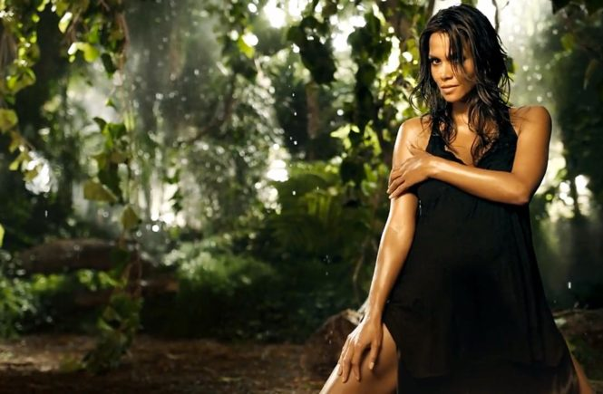 Halle Berry for Wild Essence.