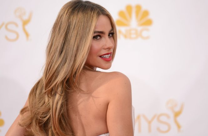 SOFIA VERGARA @ the 66th Primetime Emmy Awards held @ the Nokia. August 25, 2014, Image: 202773273, License: Rights-managed, Restrictions: AMERICA, Model Release: no, Credit line: Profimedia, Visual