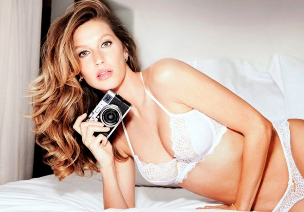 Brazilian supermodel Gisele Bundchen in promotional and behind the scenes pictures for her own brand Gisele Intimates in their 2014 collections., Image: 212194001, License: Rights-managed, Restrictions: EDITORIAL USE ONLY, Model Release: no, Credit line: Profimedia, Balawa Pics