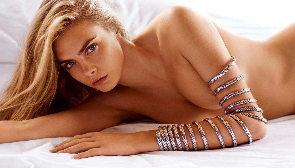 English fashion model Cara Delevinge stars in John Hardy Jewelry Spring 2015 advertising campaign., Image: 216263271, License: Rights-managed, Restrictions: EDITORIAL USE ONLY, Model Release: no, Credit line: Profimedia, Balawa Pics