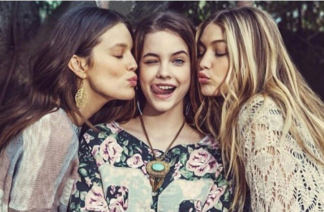 Emily Didonato has posted a photo on Instagram with the following remarks: Coming soon! @rosacha campaign @gigihadid @realbarbarapalvin #rosacha @imgmodels Instagram, 2015-01-28 18:00:11. Photo supplied by insight media This is a private photo posted on social networks and supplied by this Agency. This Agency does not claim any ownership including but not limited to copyright or license in the attached material. Fees charged by this Agency are for Agency's services only, and do not, nor are they intended to, convey to the user any ownership of copyright or license in the material. By publishing this material you expressly agree to indemnify and to hold this Agency and its directors, shareholders and employees harmless from any loss, claims, damages, demands, expenses (including legal fees), or any causes of action or allegation against this Agency arising out of or connected in any way with publication of the material., Image: 216620886, License: Rights-managed, Restrictions: Photo supplied by insight media. For editorial use only. Single rate handling fee applies., Model Release: no, Credit line: Profimedia, Insight Media