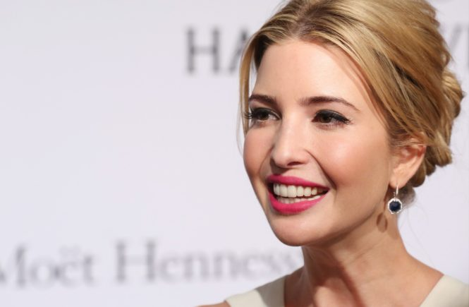 Ivanka Trump attends the 2015 amfAR New York Gala at Cipriani Wall Street on February 11, 2015 in New York City., Image: 218065420, License: Rights-managed, Restrictions: , Model Release: no, Credit line: Profimedia, Face To Face A