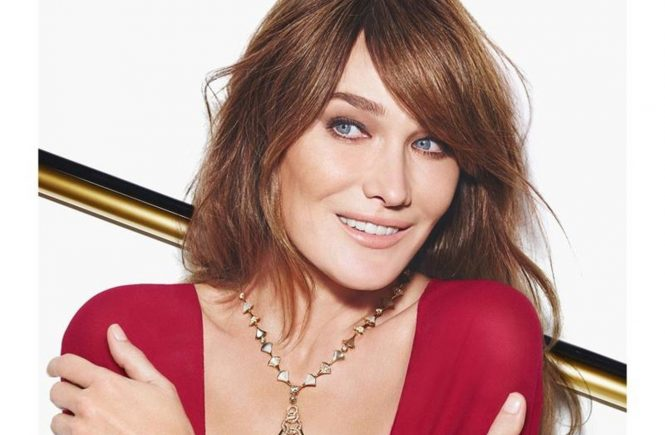 Carla Bruni in the new ad campaign of Bulgari Diva, Image: 218170774, License: Rights-managed, Restrictions: , Model Release: no, Credit line: Profimedia, Thunder Press