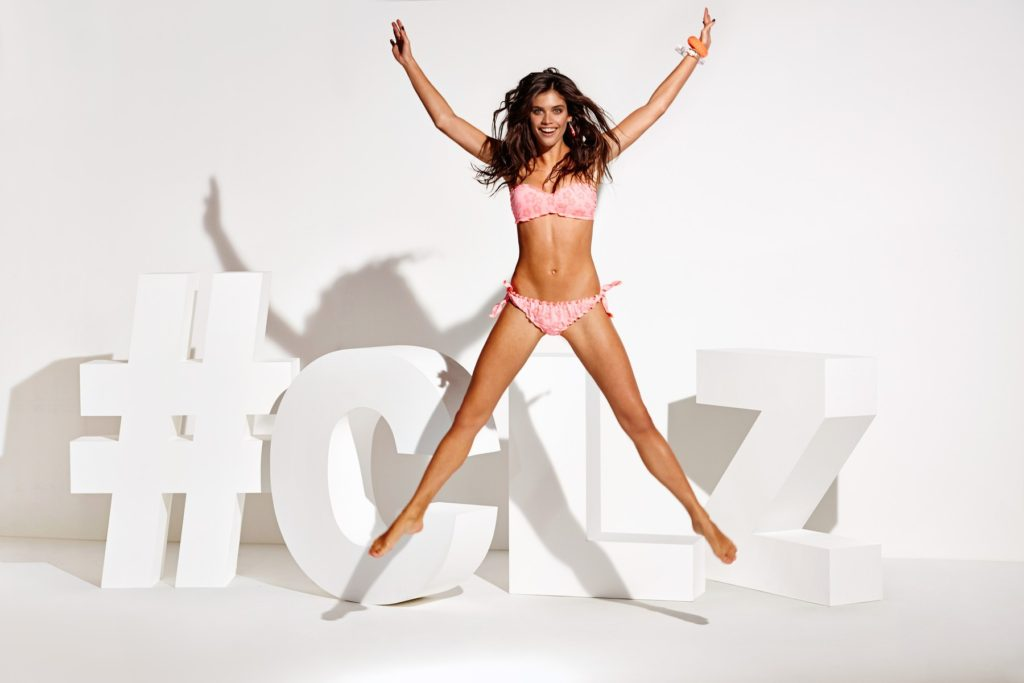 Sara Sampaio in the new swimwear spring summer 2015 campaign of Calzedonia, Image: 222855361, License: Rights-managed, Restrictions: , Model Release: no, Credit line: Profimedia, Thunder Press