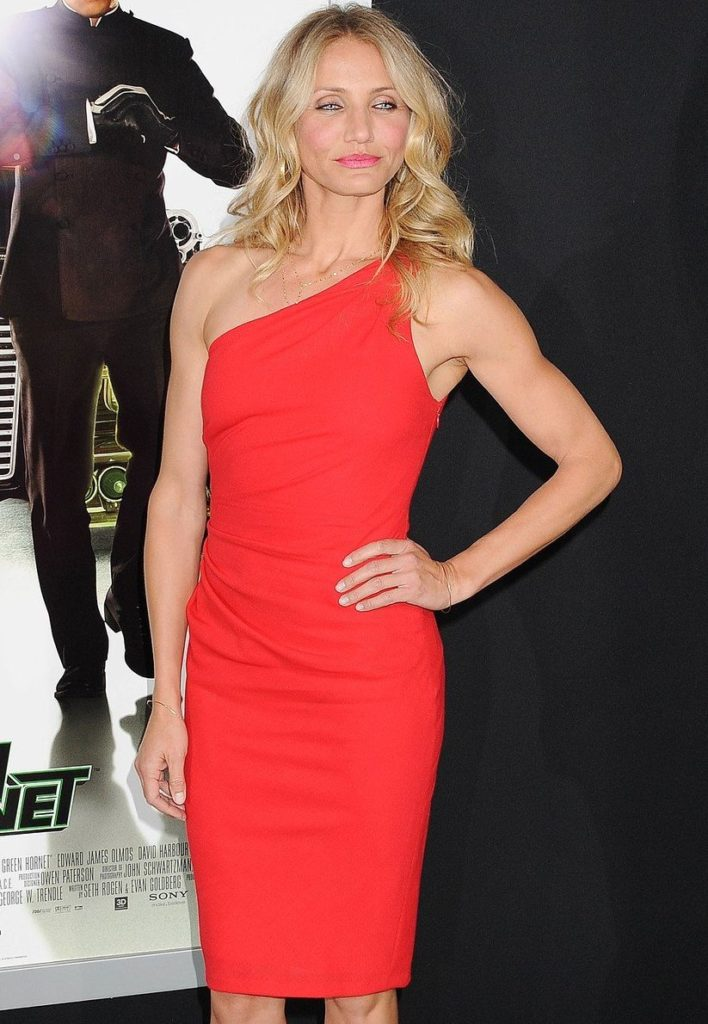 """HOLLYWOOD, CA - January 10: Cameron Diaz arrives at """"The Green Hornet 3D"""" Los Angeles Premiere held at Grauman's Chinese Theatre on January 10, 2011 in Hollywood, California."""