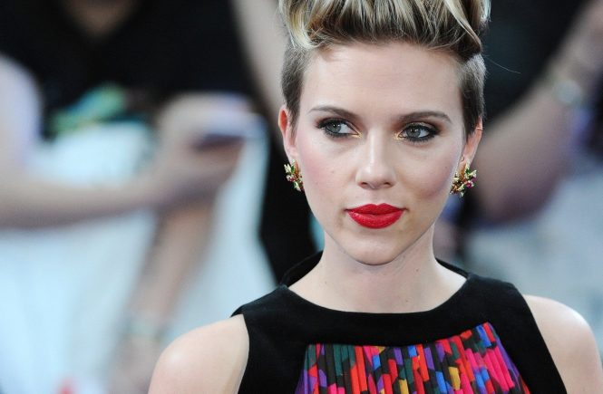 Picture Shows: Scarlett Johansson April 21, 2015 Scarlett Johansson attends 'The Avengers: Age Of Ultron' European premiere at Westfield London in London, UK. The actress stunned in a printed gown. Worldwide Rights, Image: 239484183, License: Rights-managed, Restrictions: Non Exclusive No Digital Rights Without Permission Please Credit All Uses, Model Release: no, Credit line: Profimedia, FameFlynet UK