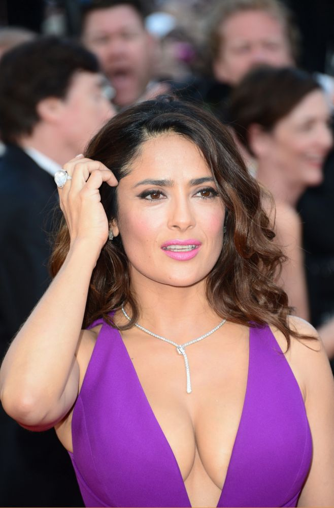 May 14, 2015 - Cannes, France - CANNES, FRANCE - MAY 17: Salma Hayek attends the 'Carol' Premiere during the 68th annual Cannes Film Festival on May 17, 2015 in Cannes, France., Image: 245372153, License: Rights-managed, Restrictions: , Model Release: no, Credit line: Profimedia, Zuma Press - Archives