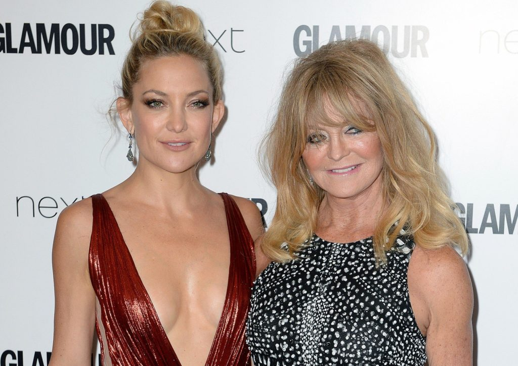 Kate Hudson and Goldie Hawn attending the Glamour Women of the Year Awards 2015 held at Berkeley Square Gardens, London (Mandatory Credit: DOUG PETERS/ EMPICS Entertainment), Image: 247376327, License: Rights-managed, Restrictions: NONE, Model Release: no, Credit line: Profimedia, Press Association