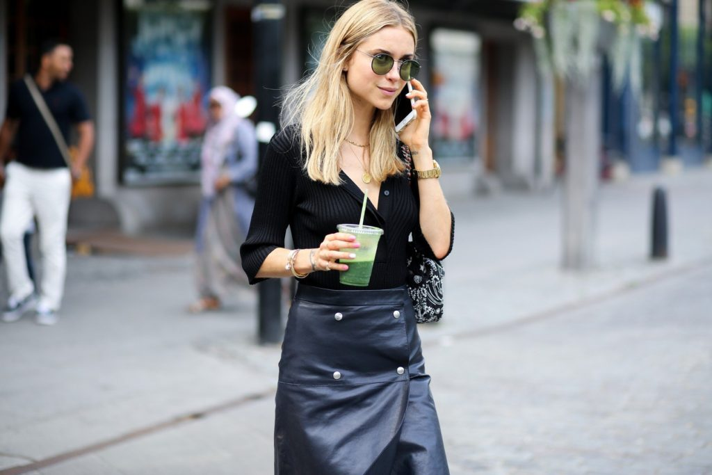 Street style, Pernille Teisbaek arriving at Carin Wester Spring Summer 2016 show held at Berns Hotel, in Stockholm, Sweden, on August 25th, 2015., Image: 256479090, License: Rights-managed, Restrictions: , Model Release: no, Credit line: Profimedia, Abaca