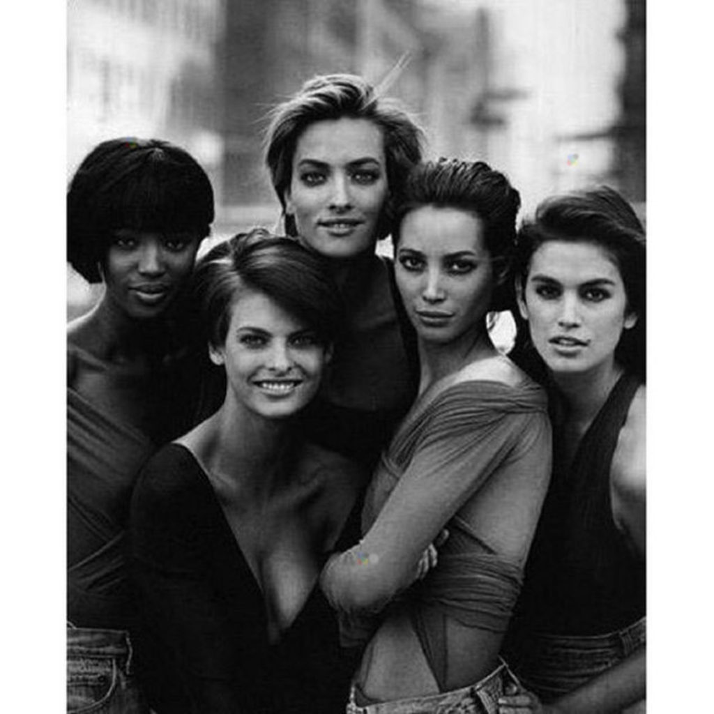 "Naomi Campbell ""#TBT #nyfw #fashion @cindycrawford @lindaevangelista @cturlington @mstatjanapatitz"", Image: 258156020, License: Rights-managed, Restrictions: , Model Release: no, Credit line: Profimedia, Face To Face A"