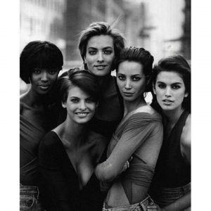 """Naomi Campbell """"#TBT #nyfw #fashion @cindycrawford @lindaevangelista @cturlington @mstatjanapatitz"""", Image: 258156020, License: Rights-managed, Restrictions: , Model Release: no, Credit line: Profimedia, Face To Face A"""