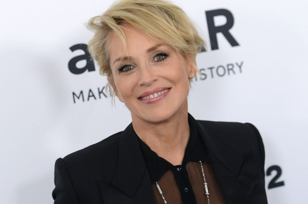 SHARON STONE @ the 2015 amFAR's Inspiration Gala held @ the Milk studios. October 29, 2015, Image: 264285197, License: Rights-managed, Restrictions: AMERICA, Model Release: no, Credit line: Profimedia, Visual