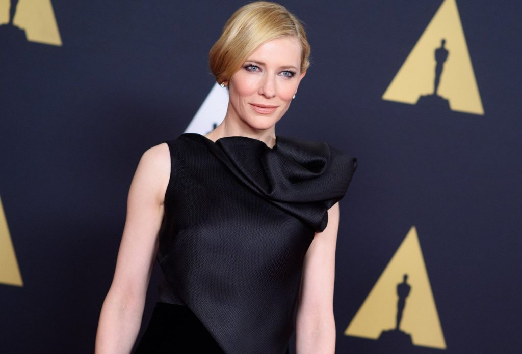 Cate Blanchett attends the Academy's 7th Annual Governors Awards in The Ray Dolby Ballroom at Hollywood & Highland Center. in Hollywood, CA, on Saturday, November 14, 2015., Image: 266438961, License: Rights-managed, Restrictions: FOR EDITORIAL USE ONLY. NOT FOR COVER USAGE., Model Release: no, Credit line: Profimedia, TEMP Camerapress