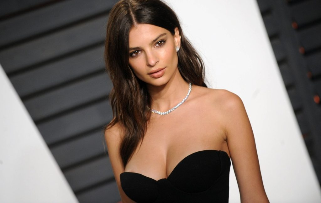 Emily Ratajkowski at The 2016 Vanity Fair Oscar Party. (Beverly Hills, CA), Image: 275885277, License: Rights-managed, Restrictions: , Model Release: no, Credit line: Profimedia, StarMax