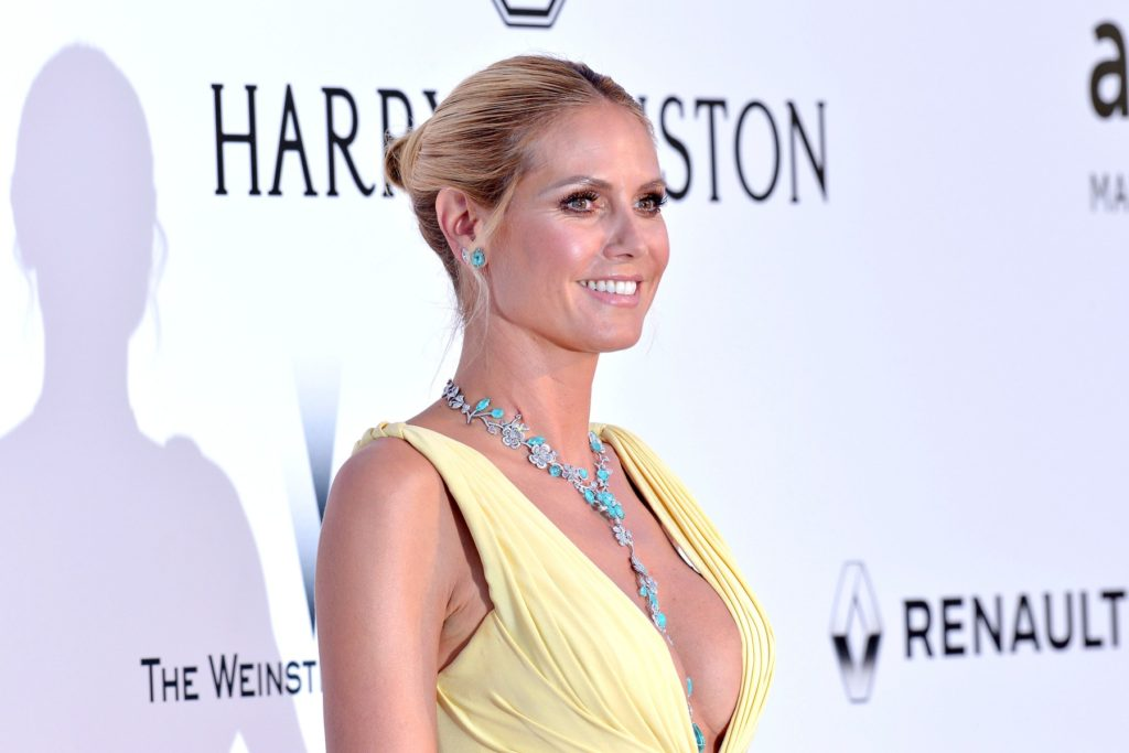 Heidi Klum attends the amfAR Gala at Hotel Du Cap-Eden-Roc during the 69th annual International Cannes Film Festival in Cannes, France, 19th May 2016., Image: 286088908, License: Rights-managed, Restrictions: , Model Release: no, Credit line: Profimedia, Face To Face A