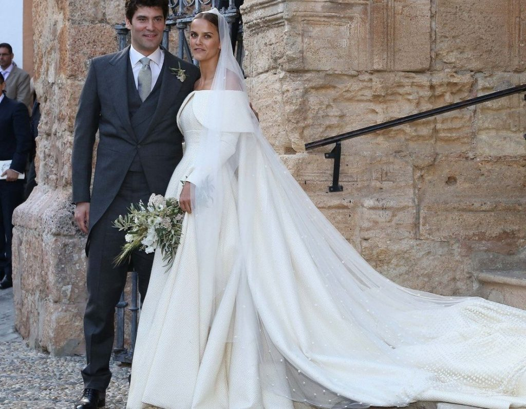 Picture Shows: Alejandro Santo Domingo, Lady Charlotte Wellesley May 28, 2016 The Duke Of Wellington's Daughter Lady Charlotte Wellesley marries long time Colombian-American financier Alejandro Santo Domingo in a private wedding in Granada, Spain. WORLDWIDE RIGHTS - NO SPAIN, Image: 287642256, License: Rights-managed, Restrictions: Non Exclusive No Digital Rights Without Permission Please Credit All Uses, Model Release: no, Credit line: Profimedia, FameFlynet UK