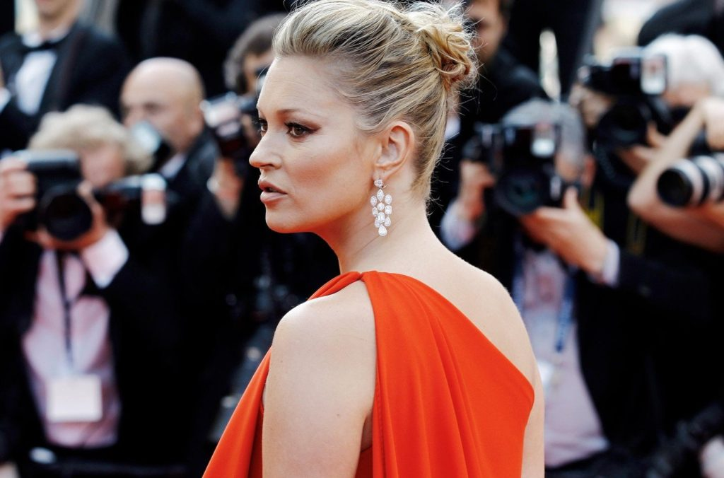 CANNES, FRANCE - MAY 16: Kate Moss attends the 'Loving' premiere during the 69th Cannes Film Festival on May 16, 2016 in Cannes, France., Image: 294289165, License: Rights-managed, Restrictions: , Model Release: no, Credit line: Profimedia, Alamy