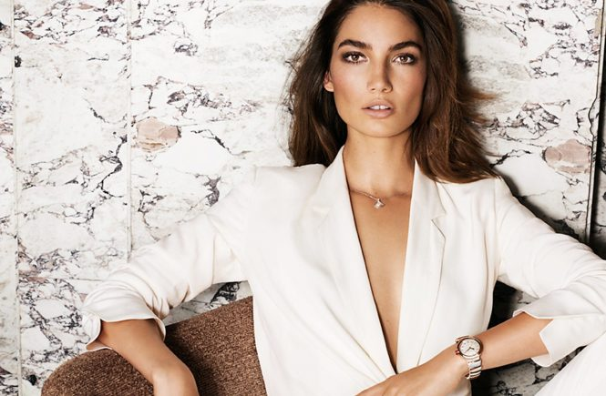 American fashion model Lily Aldridge stars in Bvlgari Fall Winter 2016 advertising campaign., Image: 303323954, License: Rights-managed, Restrictions: EDITORIAL USE ONLY, Model Release: no, Credit line: Profimedia, Balawa Pics