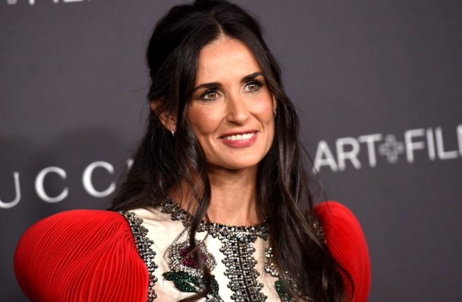Demi Moore @ the 2016 LACMA Art + Film Gala held @ the LACMA. October 29, 2016, Image: 304280544, License: Rights-managed, Restrictions: AMERICA, Model Release: no, Credit line: Profimedia, Visual