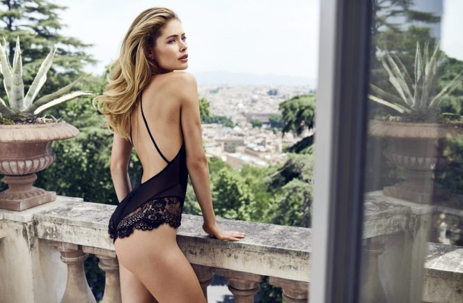 Doutzen Kroes for Hunkemšller.