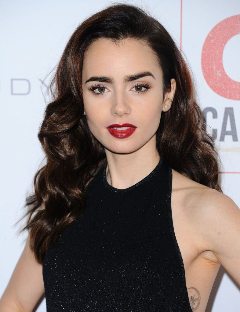 -Los Angeles, CA - 11/05/2016 10th Anniversary Celebration of Go Campaign -PICTURED: Lily Collins -, Image: 304865746, License: Rights-managed, Restrictions: , Model Release: no, Credit line: Profimedia, INSTAR Images