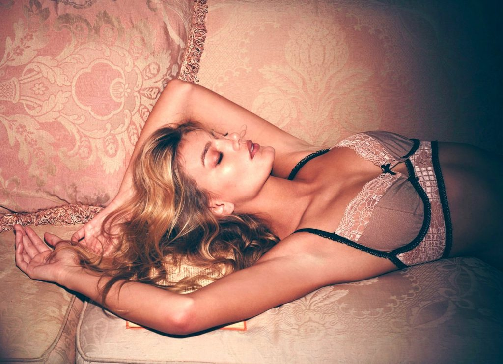 Dutch fashion model Bregje Heinen stars in Skivvies 'Darling of Mystery' Holiday 2016 lingerie collection., Image: 305164516, License: Rights-managed, Restrictions: EDITORIAL USE ONLY, Model Release: no, Credit line: Profimedia, Balawa Pics