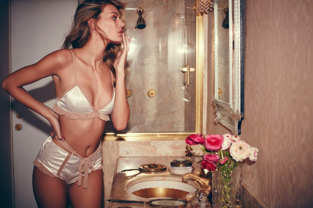 Dutch fashion model Bregje Heinen stars in Skivvies 'Darling of Mystery' Holiday 2016 lingerie collection., Image: 305164525, License: Rights-managed, Restrictions: EDITORIAL USE ONLY, Model Release: no, Credit line: Profimedia, Balawa Pics