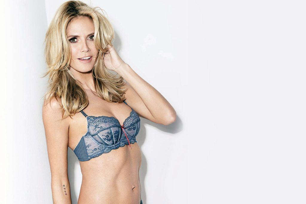 German fashion model Heidi Klum in the new preview pictures of her Heidi Klum HK Intimates Spring Summer 2017 lingerie collection., Image: 316780771, License: Rights-managed, Restrictions: EDITORIAL USE ONLY, Model Release: no, Credit line: Profimedia, Balawa Pics