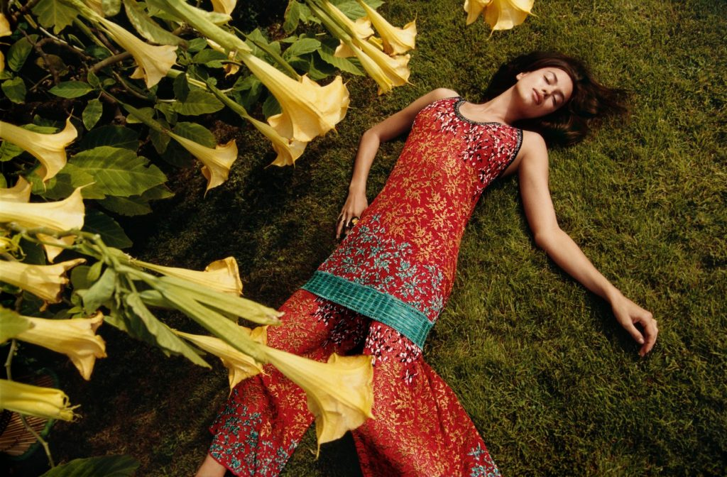 Irina Shayk in the Spring Summer 2017 ad campaign of Missoni, Image: 320201153, License: Rights-managed, Restrictions: , Model Release: no, Credit line: Profimedia, Thunder Press