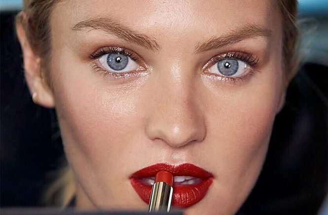 South African fashion model Candice Swanepoel in the photo session for Max Factor 2017 Lipfinity., Image: 320946522, License: Rights-managed, Restrictions: EDITORIAL USE ONLY, Model Release: no, Credit line: Profimedia, Balawa Pics