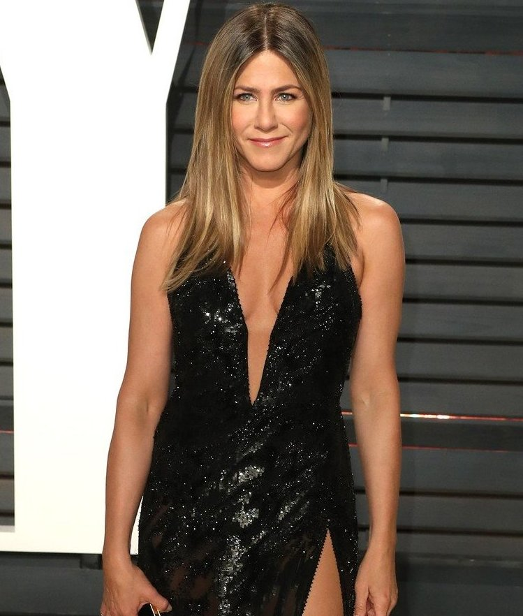 Jennifer Aniston at 2017 Vanity Fair Oscar Party hosted by Graydon Carter at the Wallis Annenberg Center for the Performing Arts, Image: 322582431, License: Rights-managed, Restrictions: World Rights except USA, France, Germany, Spain, Italy, Australia & NZ, Switzerland, Holland, Poland and South Africa, Model Release: no, Credit line: Profimedia, Press Association