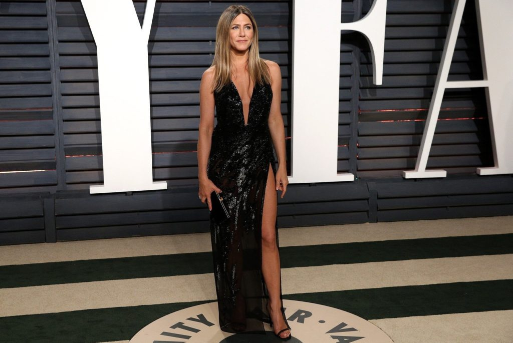 AG_173675 - - Los Angeles, CA - Jennifer Aniston at the Vanity Fair Oscar Party 2017 at Wallis Annenberg Center For The Performing Arts in Beverly Hills. Pictured: Jennifer Aniston 26 FEBRUARY 2017, Image: 322591752, License: Rights-managed, Restrictions: , Model Release: no, Credit line: Profimedia, AKM-GSI